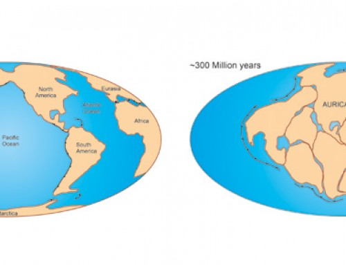 "Aurica, the new supercontinent, in ""The Economist"""
