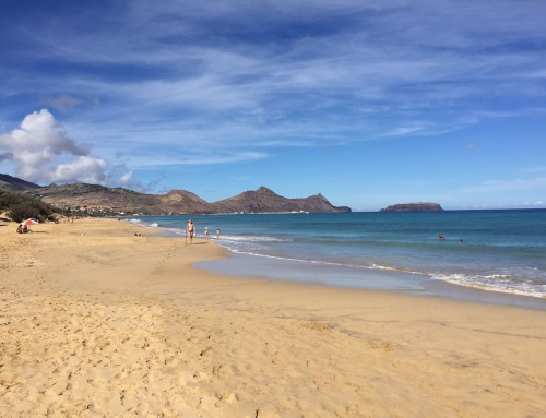 César Andrade talks about the sands of Porto Santo Island in RTP Madeira