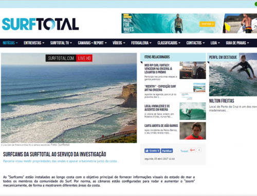 """Surfcams meet Research"" now in the news of Surftotal"