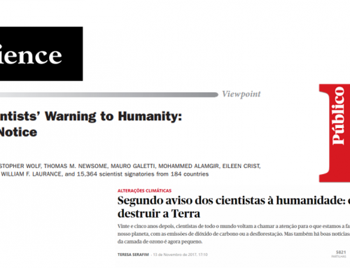 Second Warning for Humanity: Ricardo Trigo is co-author of the BioScience paper