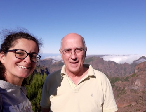 Researchers of the IDL on a field mission in the Madeira island