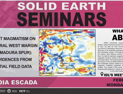 Solid Earth Seminars – Cláudia Escada